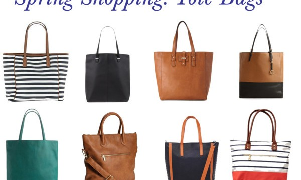 Spring Shopping: Tote Bags