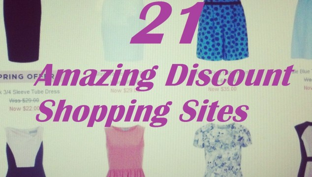 21 of the Best Discount Shopping Sites For Clothes and Home Goods
