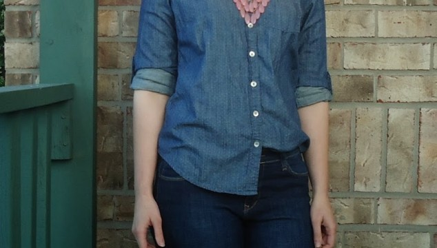 Chambray All Day + Red Star Sunglasses Giveaway!